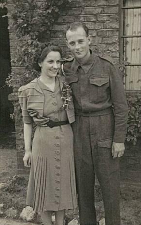 Gerry & Kathleen in uniform 3
