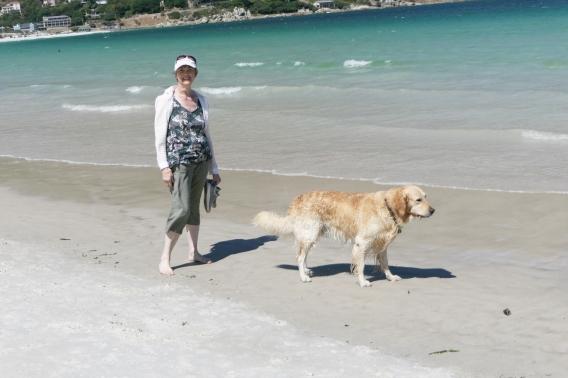Maggie on Beach 2